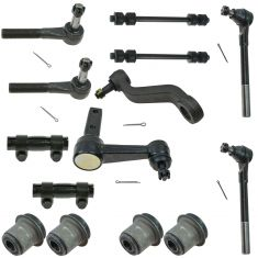 94-99 Dodge Ram 1500 2WD Front Steering & Suspension Kit (12 Piece Set)