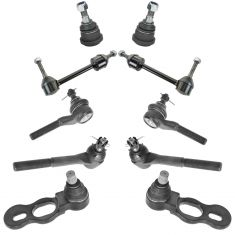 95-97 Ford Lincoln Mercury Front Steering & Suspension Kit (10 Piece)