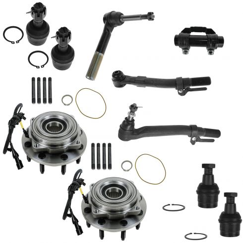 05-10 Ford F250; F350 Super Duty 4WD Front Steering & Suspension Kit (10 Piece)