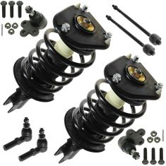 00-05 GM Mid Siz FWD (w/o Elect Suspension) Front Steering & Suspension Kit (Set of 8)