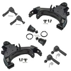 98-04 Nissan Frontier; 00-04 Xterra Front 8 Piece Steering & Suspension Kit