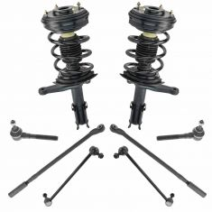 98-04 Concorde; Intrepid; 99-04 300M; 99-01 LHS Front Steering & Suspension Kit (8 Piece)