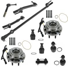 05-07 Ford F250; F350 Super Duty Steering & Suspension Kit (11pcs)