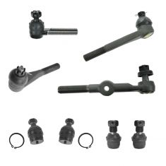 89-91 Chevy; GMC Pickup Truck SUV Steering & Suspension Kit (8pcs)