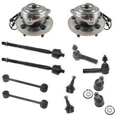 06-10 Jeep Commander 05-10 Jeep Grand Cherokee Steering & Suspension Kit (12pcs)