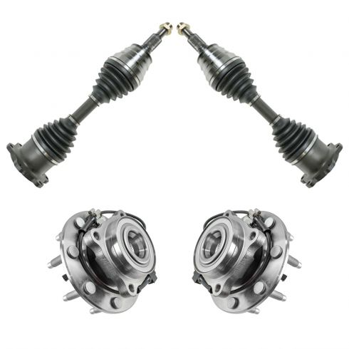 How To Replace Front CV Axle 01-10 GMC Sierra 2500 HD | 1A Auto
