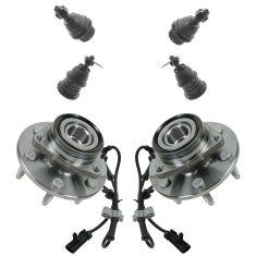 9-09 GM Full Size SUV, Pickup, VanSteering & Suspension Kit (6pcs)