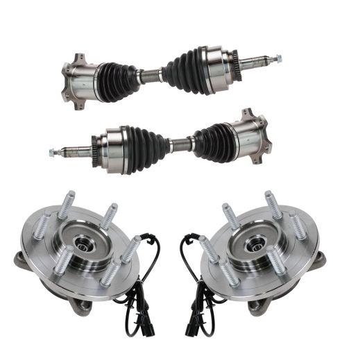 04-05 Ford F150 4wd 6 Lug Steering Kit (4pcs)
