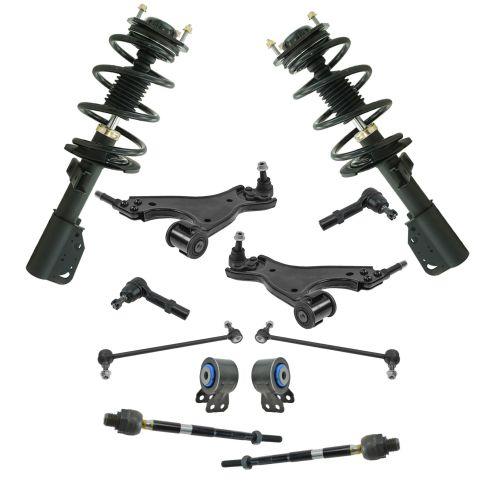 08-16 Buick Enclave; 09-16 Traverse; 07-16 Acadia Steering & Suspension Kit (12pcs)