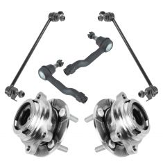 03-06 Infiniti FX35, FX45 Steering & Suspension Kit (6pcs)