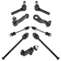 99-10 Chevy Silverado 2500, 3500; GMC Serra 2500, 3500 Steering & Suspension Kit (9pcs)