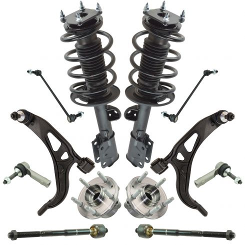 11-12 Ford Explorer Front Suspension Kit (12pcs)