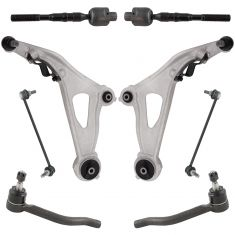 13-17 Nissan Pathfinder; 13 JX35; 14-17 QX60 Steering & suspension Kit (8pcs)
