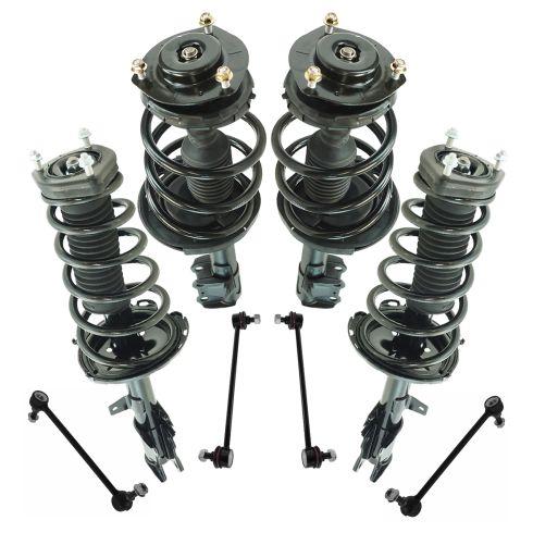 13-14 Toyota Venza FWD Front & Rear Suspension Kit (8pcs)