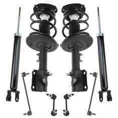 Strut /& Spring Shock Absorber Front /& Rear Kit Set of 4 for 07-12 Nissan Altima