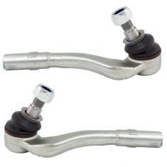 08-15 MB C-Class; 10-17 E-Class; 12-17 SLK-Class RWD Front Outer Tie Rod End Pair