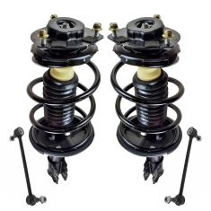 02-03 Toyota Camry, Lexus ES300 Front Strut & Spring Assembly and Sway Bar Link Kit (4pc)