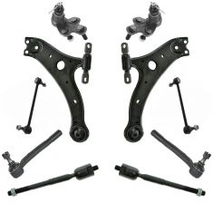 02-03 ES300, 02-03 Camry Front Steering & Suspension Kit (Set of 10)