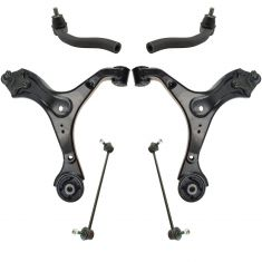 13-15 Honda Civic w/ AT Front Steering & Suspension Kit (6pc)