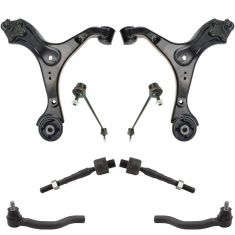13-15 Honda Civic w/ AT Front Steering & Suspension Kit (8pc)