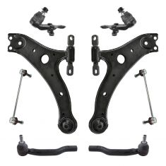 07-18 Toyota Camry; 13-18 Avalon Front Steering & Suspension Kit (8pc)