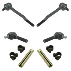 93-98 Toyota T100; 86-95 4Runner Pickup In & Out Tie Rod End w/ Adj Kit (6pc)