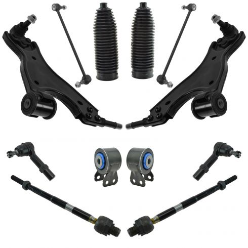 08-17 Buick Enclave; 09-17 Traverse; 07-17 Acadia Steering & Suspension Kit (12p