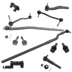 00-04 Ford F250SD; 99-04 F350SD; 01-05 Excrsn w/4WD Front Suspension (12 Piece Kit) (Moog)