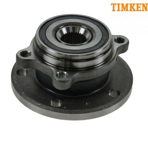 How to Replace Front Wheel Bearing Hub 05-13 Volkswagen
