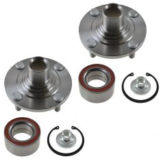 1983-94 Fort Escort Front Hub & Bearing Pair