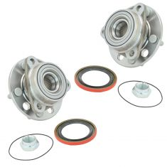 83-93 GM FWD Cars w/o ABS Front Hub & Bearing Pair