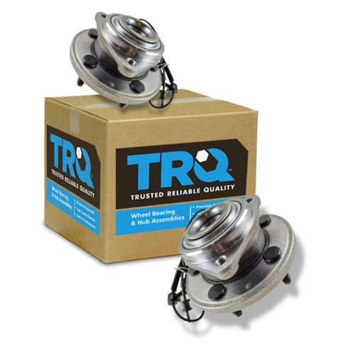 TRQ Wheel Bearing /& Hub Assembly Rear Pair for Jeep Commander Grand Cherokee