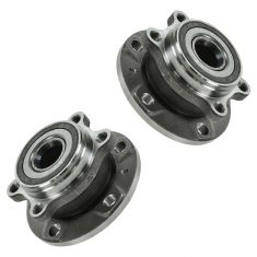 06-09 AUDI VW 4WD Rear Wheel Bearing & Hub Assembly REAR PAIR