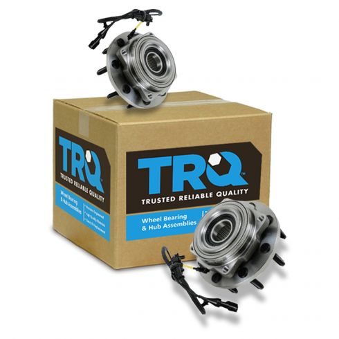 05-10 Ford F250SD F350SD w/SRW 4WD AWAL Front Wheel Bearing & Hub PAIR