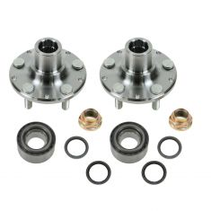 98-02 Forester; 93-99 Impreza; 90-99 Legacy w/ABS Front Hub, Bearing, & Seal Kit PAIR