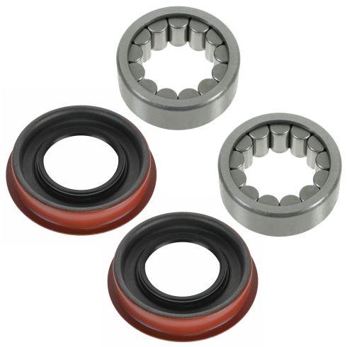 88-10 GM, Hummer, Isuzu; 05-09 Saab 9-7X Rear Wheel Axle Shaft Bearing & Seal PAIR
