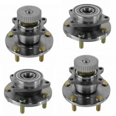 Front & Rear Wheel Hub & Bearing Left or Right for Chrysler Dodge Mitsubishi 5 Lug