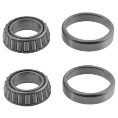 Various Wheel Bearing & Race Set Front Pair