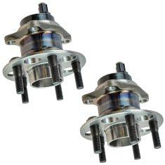08-14 Scion XD Rear Wheel Bearing & Hub Assembly Pair