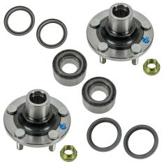 00-07 Subaru Impreza Front Wheel Bearing Hub & Seal Kit Driver & Passenger Side