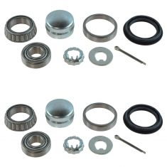 85-99 VW Audi Rear Wheel Bearing Kit Pair