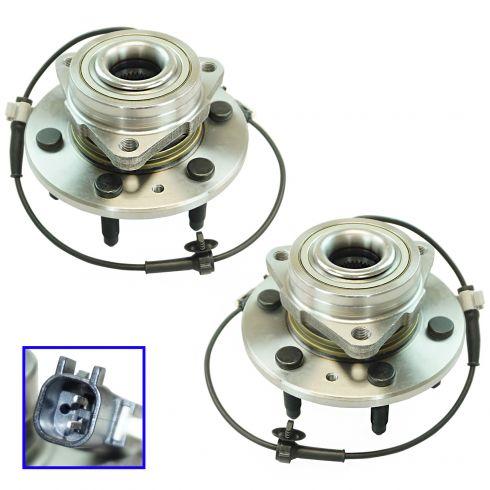 15-16 Escalade 4WD Front Wheel Hub & Bearing Assembly LF & RF Pair