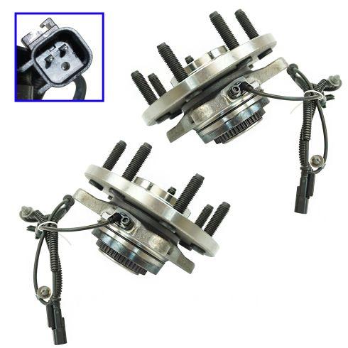 Front Wheel Hub /& Bearing Kit Left /& Right Pair Set For 98-01 Nissan Altima