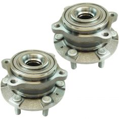 09-11 Kia Borrego Rear Wheel Hub & Bearing Assembly LH  RH Pair