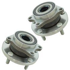 06-14 Subaru Tribeca Front Wheel Hub & Bearing Assembly Pair