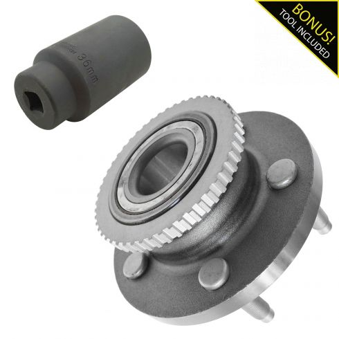 1ASHS01186-Ford Lincoln Mercury Front Wheel Bearing & Axle Socket Kit
