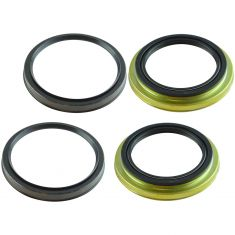 96-02 4Runner, 01-07 Sequoia, 95-04 Tacoma, 00-06 Tundra Front Inner & Outer Wheel Seal 4 Piece