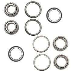 Ford, Freighltiner, Hino Multifit Front Inner & Outer Wheel Bearings & Seals LH & RH