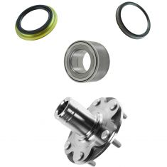 Toyota Pickup Truck SUV Multifit Front Wheel Bearings, Hubs & Inner & Outer LH or RH Seal Kit (4pc)