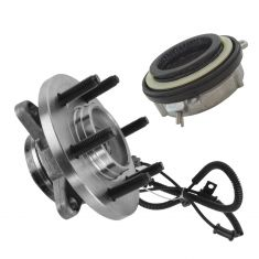 11-14 F150; 11-14 Expedition; 11-14 Mark LT w/4WD Front Wheel Bearing & Hub Actuator PAIR